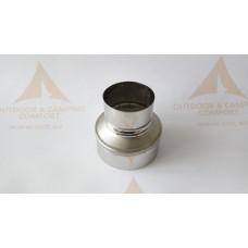Редукция (преход) за димоотвод ф90 към ф60