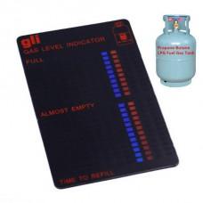 Индикатор за нивото на газова бутилка пропан-бутан