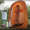 Преносима баня за къмпинг, палатки, риболов, каравана, кемпер - премиум пакет