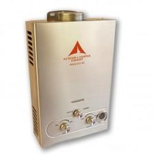 Проточен газов бойлер 12 kw, подходящ за къмпинг, палатки, каравана, кемпер, 12 волта