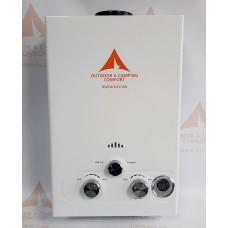 Проточен газов бойлер 12 kw, 6L, 12 волта