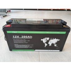LiFePO4 Литиев-желязо-фосфатен акумулатор 12V 200Ah