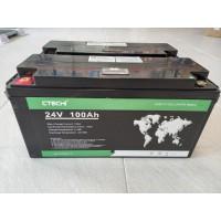 LiFePO4 Литиев-желязо-фосфатен акумулатор 24V 100Ah
