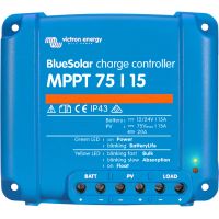 Соларен контролер Victron BlueSolar MPPT 75/15 (12/24V-15A)