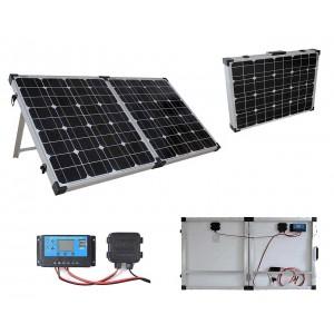 Монокристален сгъваем соларен панел 100W